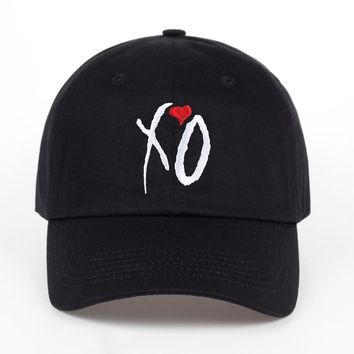 X.O Cap Red Baseball Hat Cap High Quality Adjustable Design High Quality hats