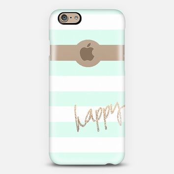 *** PRETTY HAPPY II MINT ***  by Monika Strigel iPhone 6 iPhone 6 case by Monika Strigel | Casetify