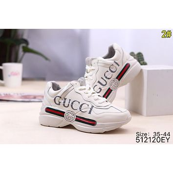 GUCCI Classic Hot Sale Women Men Casual Sport Running Shoes Sneakers 2#