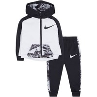 Baby Boy Nike Therma-FIT Zip Hoodie & Pants Set, Size: 18 Months, Med Grey