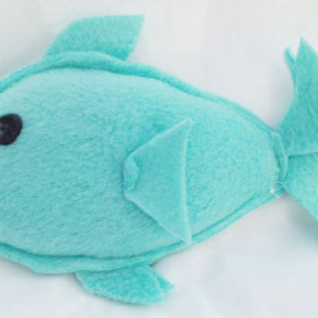 Sleepy time lavender filled fish/ Stuffed soothing fish toy