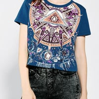 Ecote Mystical Eye Cropped Tee