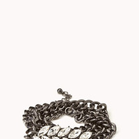 Pretty-Tough Chain Bracelet