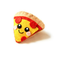 Home Slice Pizza Felt Accessory