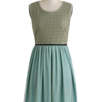 Knitted Dove Fern the Tide Dress | Mod Retro Vintage Dresses | ModCloth.com