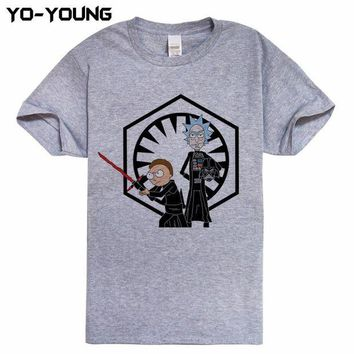VOND4H Rick And Morty Men T-shirts