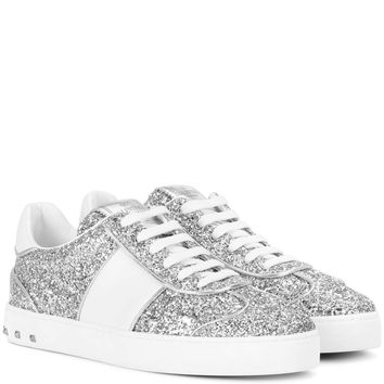 Valentino Garavani Fly Crew leather sneakers