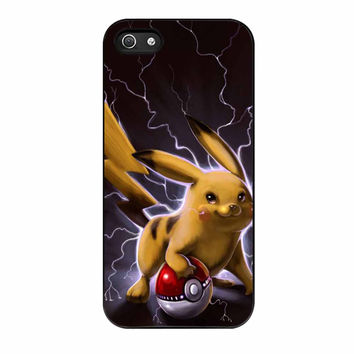 Pikachu Electric Power Mode iPhone 5s Case