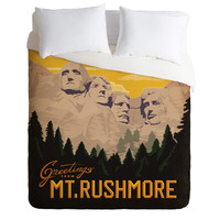 Anderson Design Group Mt Rushmore Duvet Cover
