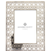 Filigree Photo Frame In Antique Silver