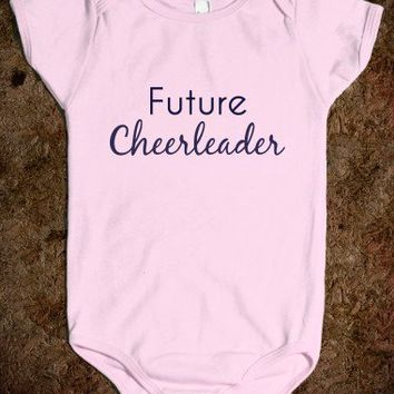 Future Cheerleader - Girls - Pink - Underlinedesigns