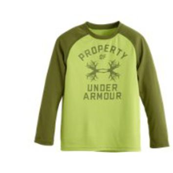 Under Armour Boys' Toddler UA Outdoor Property LS T-Shirt