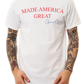 The Made America Great Tee in White