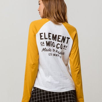 ELEMENT Made To Endure Womens Raglan Tee