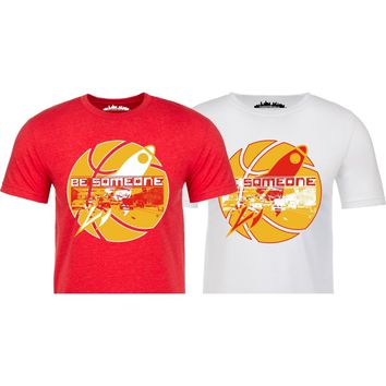 """Houston's Throwback Basketball """"Be Someone"""" Edition."""