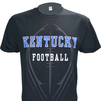 University of Kentucky Football Black T Shirt
