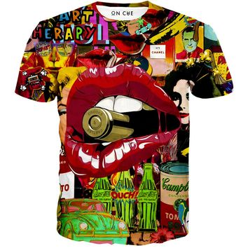 Pop Art Therapy T-Shirt