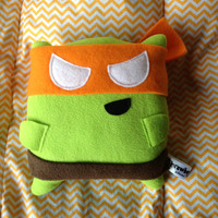 Turtle Pillow Fighter (Orange)