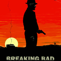 Break Bad - Heisenberg Art Print by Duke Dastardly