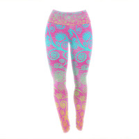 "Monika Strigel ""Get Lucky"" Yoga Leggings"