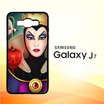 Disney Evil Queen Y0751 Samsung Galaxy J7 Edition 2015 SM-J700 Case