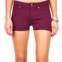 Slim Stretch Shorts