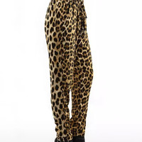 Winter Women's Fashion Leopard Casual Pants [6513389767]