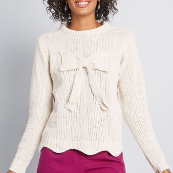 To Great Effect Chenille Sweater