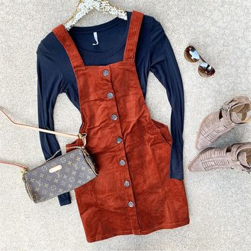 Fall Corduroy Dress
