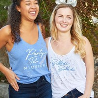 Bibbidi Bobbidi Bride | Party 'Til Midnight - Magic Kingdom Bachelorette Party Tanks