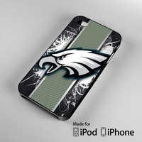 abstract Philadelphia NFL Philadelphia Eagles A0960 iPhone 4 4S 5 5S 5C 6, iPod Touch 4 5 Cases