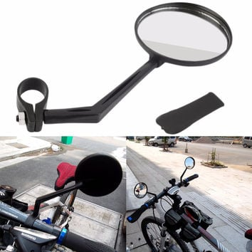Hot Sale 360 Degree Flexible Bicycle Bike Handlebar Rearview Vision Mirror Reflector Convex Surface