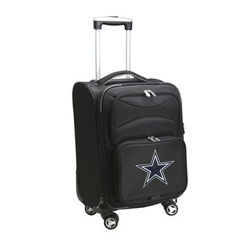 Dallas Cowboys  20'' Softsided Luggage Carry-on Spinner-Black