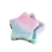 Pastel Kawaii Star Jewelry Box/Mini Storage