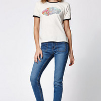 Bullhead Denim Co. Groupie Blue Low Rise Patch Pocket Skinniest Jeans at PacSun.com