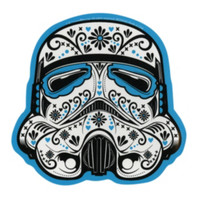 Star Wars Stormtrooper Sugar Skull Sticker