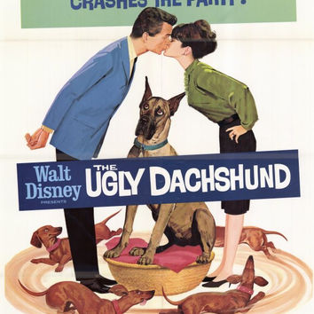 The Ugly Dachshund 27x40 Movie Poster (1966)