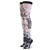 Stance x Rihanna - MOST WANTED THIGH HIGH HOSIERY - Pink