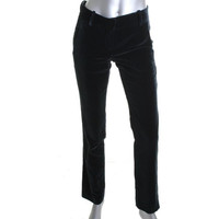 Theory Womens Namiko ND Velvet Solid Casual Pants
