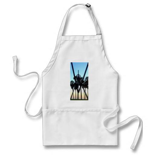 Venice Beach Sky California Photo Apron From Zazzle