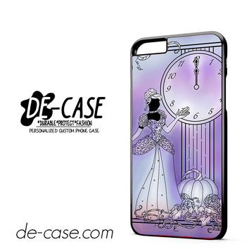 Cinderella 12 Clock DEAL-2620 Apple Phonecase Cover For Iphone 6 / 6S Plus