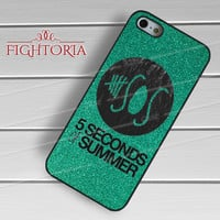 Glitter 5sos logo - z321z for  iPhone 4/4S/5/5S/5C/6/6+s,Samsung S3/S4/S5/S6 Regular/S6 Edge,Samsung Note 3/4