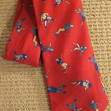 Vintage 1980s Jock Of All Trades + Handmade Silk Tie