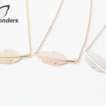 Fashion Women Men Gold/Silver/Rose Gold Bridesmaids Gift Dainty Tiny Leaf Charm Bracelet Chain