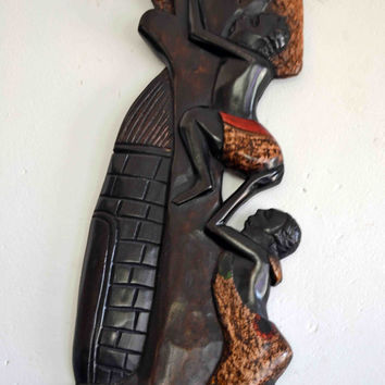 African Art Tribal Art Black Art Afro Cuban Art Yoruba Home