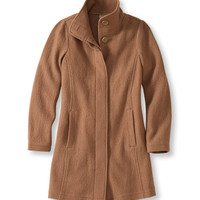 Women's Bean's Boiled Wool Coat | Free Shipping at L.L.Bean