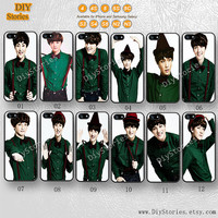Exo, Idol, K-pop, Phone cases, iPhone 5 case, iPhone 5S 5C Case, Idol, iPhone 4/4S Case, Samsung Galaxy S3 S4 S5, Note 2 3, 5C0275