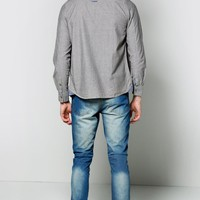 Washed Blue Slim Fit Jeans