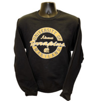 University of Maryland Alumni Gold (Black) / Crew Sweatshirt