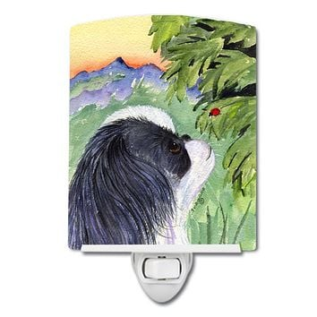 Japanese Chin Ceramic Night Light SS8259CNL